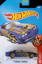 Hot Wheels 2017 #013 '77 Pontiac Firebird (Dtx83)