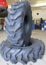 2 Reifen 12,5/80-18 TL 12PR für Radlader, Hoflader, Baumaschinen, Bagger, Grader
