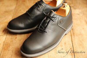 FootJoy Dryjoys Premiere Series Black Leather Golf Shoes Men's UK 9.5 US 10.5 M