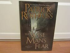 Kingkiller Chronicles: The Wise Man's Fear  Patrick Rothfuss  INSCRIBED & SIGNED