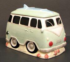 Surfer VW Van Ceramic Cookie Jar / Canister Kitchen Decor. Last one in Stock!!