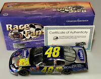 2003 Action Jimmie Johnson #48 Lowe's Sponge Bob Monte Carlo Color Chrome 1:24
