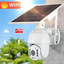WiFi Solar Camera Wireless Security Surveillance Ip66 Outdoor 1080P Hd Home Cctv