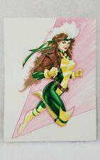ROGUE X-MEN ORIGINAL DRAWING COMIC ART MARVEL 9X12 WOLVERINE STORM JEAN GRAY