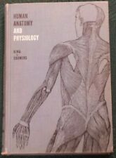 Vintage 1963 Human Anatomy and Physiology Textbook King & Showers 5th Edition