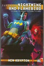 SUPERMAN NIGHTWING & FLAMEBIRD DC '10 SOFTCVR GN TPB NEW KRYPTON STORY RUCKA NEW