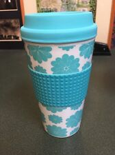 16 .5  Oz DOUBLE WALL INSULATED PLASTIC TUMBLER TRAVEL MUG CUP