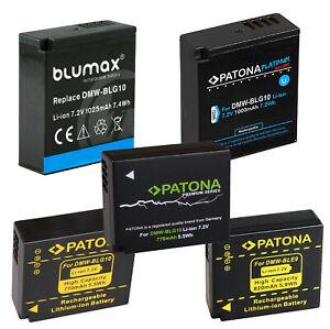 Akku DMW-BLG10 | DMW-BLG10E | DMW-BLE9 | DMW-BLE9E | Panasonic Lumix | Ersatz