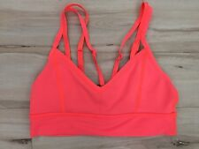Lululemon Flip Your Dog Bra Top Size 6 EUC