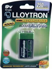 Lloytron NIMH AccuPower 9v Rechargeable Battery - 9V 250mAh 1 Pack (B018)