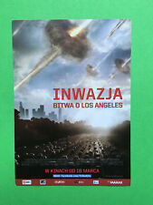 ►►POLISH FLYER Battle Los Angeles Aaron Eckhart Michelle Rodriguez MINI POSTER