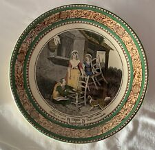 Vintage Ceramic Cries of London Cabinet Collector Plate Adams England 1