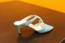 """Raine Just The Right Shoe """"Society Slide"""" miniature item # 25064 box with Coa"""