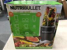 Magic Bullet NutriBullet 12 Piece Set Nutrition Extractor NEW