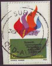 """QUEENSLAND POSTMARK """"SURAT"""" ON 6c COMMEMORATIVE DATED 1970 (A1602)"""