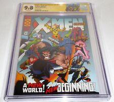 X-Men: Alpha #1 CGC SS Signature Autograph STAN LEE Second Printing 9.8 D. Beast