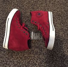 ✨New✨Converse Chuck Taylor Lux Mid Wedge Red Suede