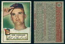 (66498) 1952 Topps 120 Bob Chakales Indians-EX