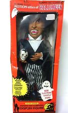 "Vintage 1990 Telco Motionettes Halloween 17"" Vampire Works Motion Light-Up Sound"