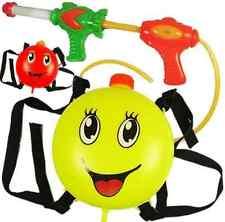 2 Water Gun Backpack Squirt Pool Toy Soak Pressure Pump Spray Super Kid Blaster