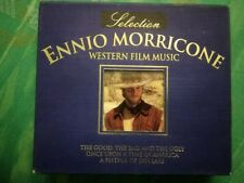 SELECTION ENNIO MORRICONE Western Film Music BOX 2 CD RARO COFANETTO DCD-741 BLU
