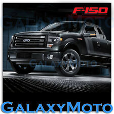 09-14 Ford F150 PICKUP TRUCK Lower Black Bumper Billet Grille Grill+Bracket Kit