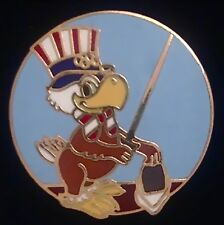 Fencing Olympic Pin Badge ~ LA 1984 ~ Sam the Eagle - pose #2-Los Angeles