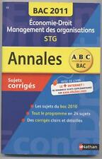 ANNALES BAC 2011 HISTOIRE GEOGRAPHIE BAC STG (STMG)