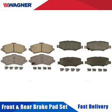 Front & Rear 8 PCS Wagner Ceramic Disc Brake Pads Set For JEEP LIBERTY 2008-2012