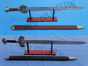 Herugrim Sword of King Theoden Braso + Eowyn Sword From Lord Of The Ring