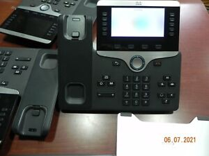 Lot of 3 Cisco IP Phone CP-8851 w/ Handset & Stand CP-8851-K9 Color Display