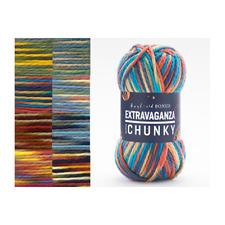 Sirdar Hayfield Bonus Extravaganza Chunky 100% Acrylic 200g Ball Craft Yarn