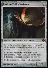 1x Molten-Tail Masticore Scars of Mirrodin MtG Magic Artifact Mythic Rare 1 x1