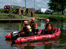 NEW ZODIAC AVON ERB 380 Emergency Rescue Workboat Inflatable Work Boat Rib Deck