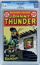 Johnny Thunder #1 (Feb-Mar 1973, DC) CGC 9.6 NM+ Western 1st Issue - WHITE Pages