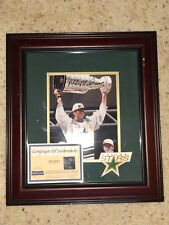 MIKE MODANO SIGNED DALLAS STARS STANLEY CUP PHOTO W/CERT. OF AUTHENTICY