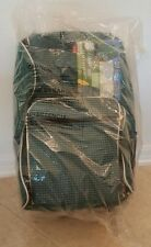 Picnic Essentials 30pc Essential Travel Backpack Plates Green Insulated Cooler