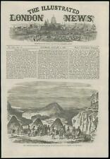 1868 - AFRICA ETHIOPIA ABYSSINIAN Expedition Shoho Akoo Annesley Bay (122)