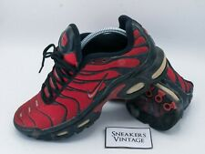 Vintage Collector Nike Air Max Plus Tn 2004 Blood Taille 42.5 RARE OG