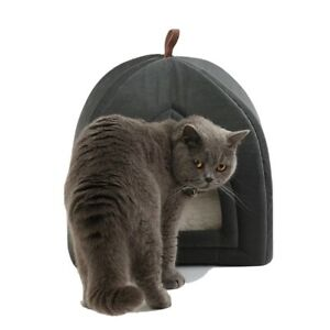 Bedsure Cat Bed For Indoor Cats - Cat House Cat Tent Cat Cave With Removable Was