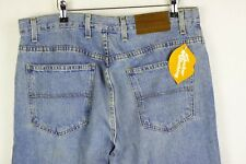 VINTAGE Mens TOMMY HILFIGER Jeans BOOTCUT Fit STONEWASHED W34 L30 VERY GOOD P21