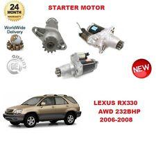 FOR LEXUS RX330 AWD 232BHP 2006-2008 DENSO ORIGINAL STARTER MOTOR EO