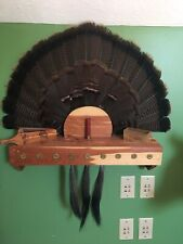 Wild Turkey Tail Fan Mount Display