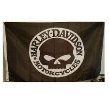 New listing Harley Davidson Willie G Flag Banner 3 X 5 ft with grommets