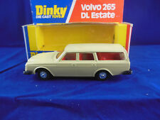 Scarce Dinky toys 122 Volvo 265 Dl Estate in Cream Superb & Original