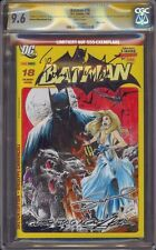 BATMAN 18 CGC 9.6 SS MIKE LILLY SKETCH SIGNED BY NEAL ADAMS AND ADAM WEST MINT 1