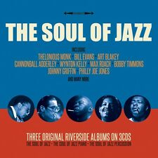 The Soul Of Jazz - Three Original Riverside Albums (3CD 2016) NEW/SEALED