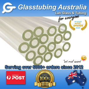 Glass Tubing  10mm 2.2mm wall  borosilicate 3.3 blowing tubes pyrex NEW PRICES