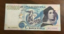 More details for  italy p.118 500.000 lire note with solid serial number.