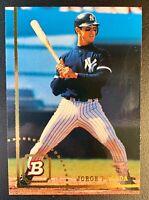 JORGE POSADA 1994 Bowman #38 Rookie RC Card New York Yankees HOF